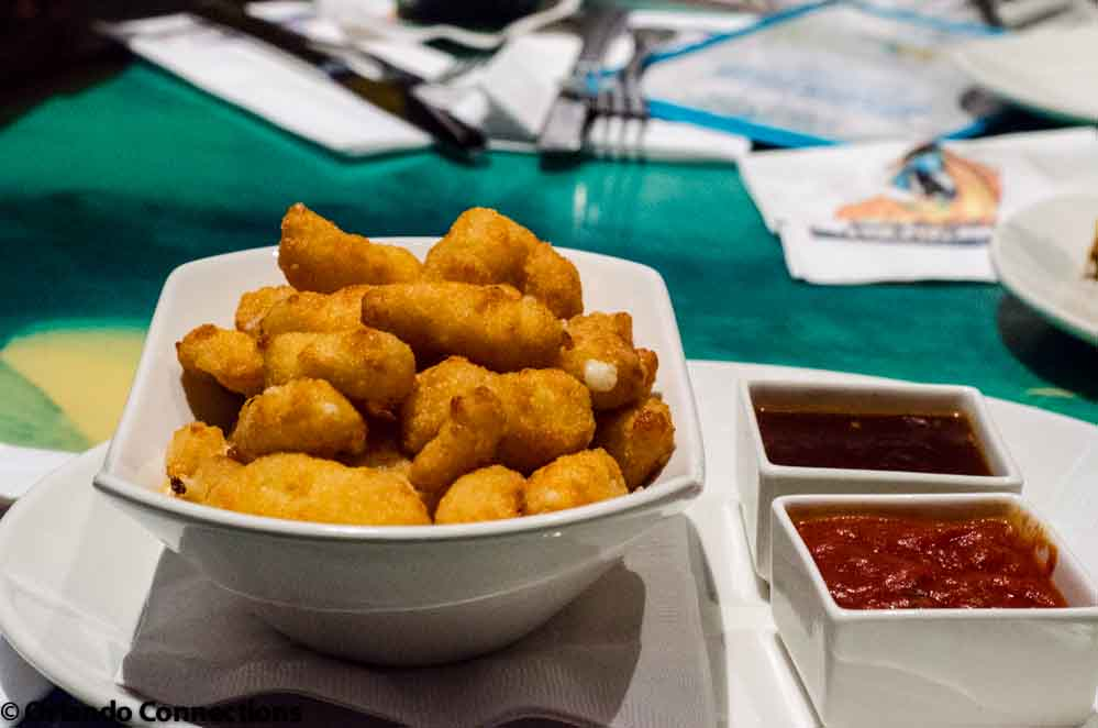 white Cheddar Cheese Curds