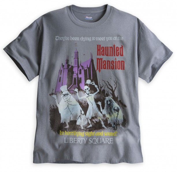 Haunted Mansion Attraction Poster T-Shirts